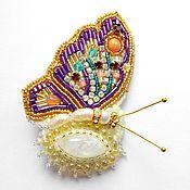"""Украшения handmade. Livemaster - original item Brooches """"Butterfly"""". Handmade."""