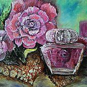 """Картины ручной работы. Ярмарка Мастеров - ручная работа Картина маслом """"Любимый аромат"""". Handmade."""