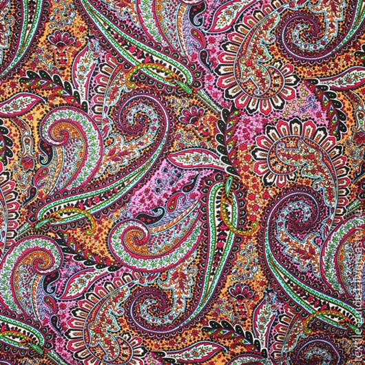 """Шитье ручной работы. Ярмарка Мастеров - ручная работа. Купить Ткань плательная вискоза """"штапель"""" 9035111. Handmade. Комбинированный"""