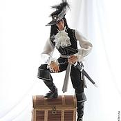 Куклы и игрушки ручной работы. Ярмарка Мастеров - ручная работа Капитан Питер Блад. Handmade.