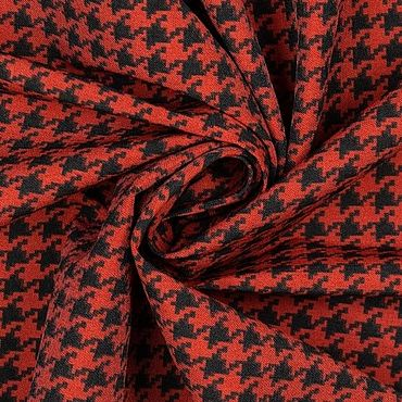 Materials for creativity handmade. Livemaster - original item Fabric: Italian costume-dress fabric. Handmade.