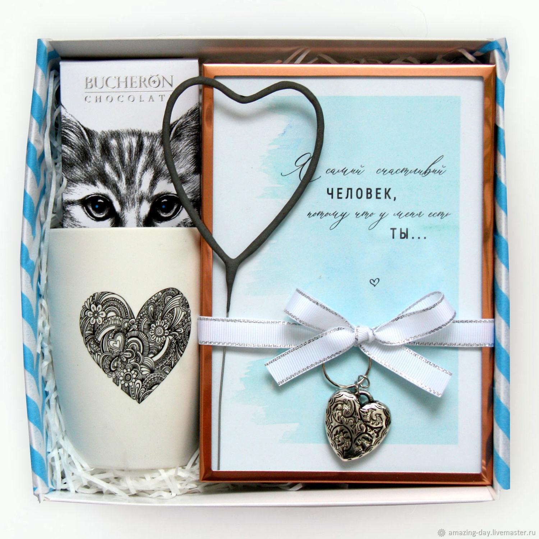 Подарок на 14 февраля, 8 марта. Giftbox #83, Подарочные боксы, Москва,  Фото №1