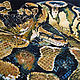 Animals handmade. Anaconda. Hot batik. 55h75. Rose Savinova