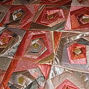 Для дома и интерьера ручной работы. Ярмарка Мастеров - ручная работа Покрывало  Немного солнца в холодной воде. Handmade.