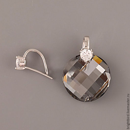 Для украшений ручной работы. Ярмарка Мастеров - ручная работа. Купить Бейл для подвески серебро 925 ТК52. Handmade.