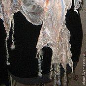 Аксессуары ручной работы. Ярмарка Мастеров - ручная работа Шифоновый шарф  Хрустальные мечты. Handmade.
