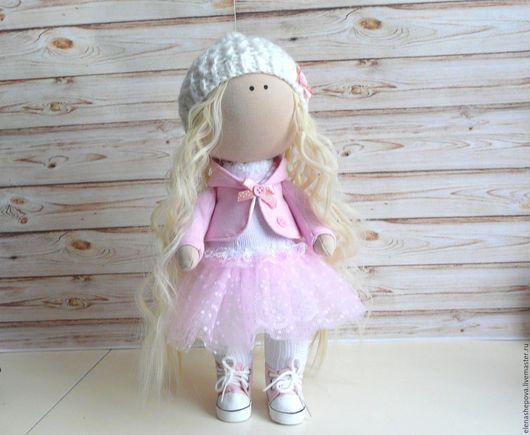 Куклы тыквоголовки ручной работы. Ярмарка Мастеров - ручная работа. Купить Кукла. Handmade. Комбинированный, кукла интерьерная, хлопок
