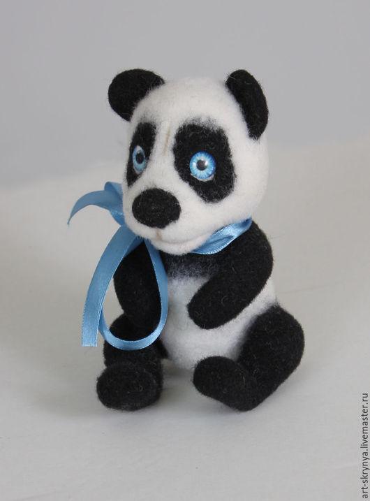 Игрушки животные, ручной работы. Ярмарка Мастеров - ручная работа. Купить панда Манчу. Handmade. Авторская игрушка, мишка тедди