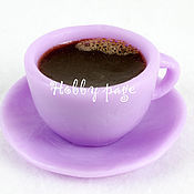 Материалы для творчества handmade. Livemaster - original item Silicone molds for soap Cup and saucer mini. Handmade.