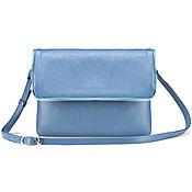 Сумки и аксессуары handmade. Livemaster - original item Womens leather handbag Venus (blue). Handmade.