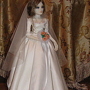 Куклы и игрушки ручной работы. Ярмарка Мастеров - ручная работа Невеста. Handmade.