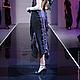 A_043 Платье двойное черный шифон с фиолетовой подкладкой с отделкой из ЮЛЫ, 100% вискоза.