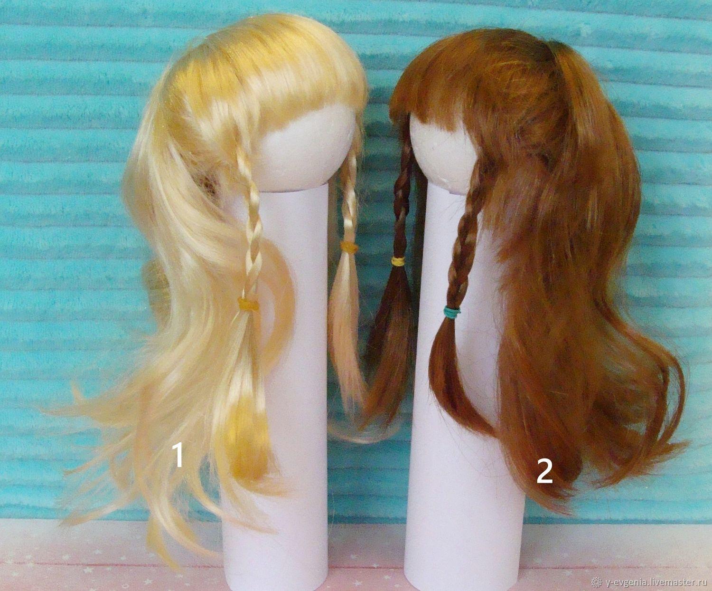 Парик для куклы, на шар 8 см, Заготовки для кукол и игрушек, Темрюк,  Фото №1