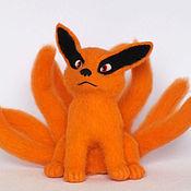 Куклы и игрушки ручной работы. Ярмарка Мастеров - ручная работа Девятихвостый Лисенок ( Nine-tail demon fox Kurama ). Handmade.