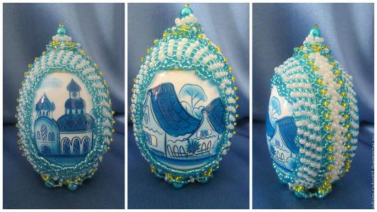 Подарки на Пасху ручной работы. Ярмарка Мастеров - ручная работа. Купить Пасхальные яйца. Handmade. Ручная работа, радость