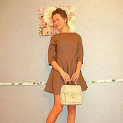 """Одежда ручной работы. Ярмарка Мастеров - ручная работа Платье """"Mademoiselle"""" из тонкой шерсти. Handmade."""