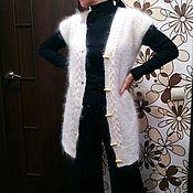Cardigans handmade. Livemaster - original item Downy cardigan