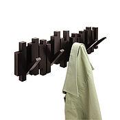 Для дома и интерьера handmade. Livemaster - original item Wall hanger sticks espresso. Handmade.