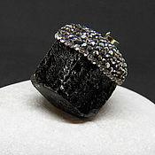 Украшения ручной работы. Ярмарка Мастеров - ручная работа Черный турмалин шерл кулон  подвеска кристалл. Handmade.