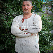 Одежда handmade. Livemaster - original item Shirt in ethnic style from the collection of
