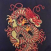 Картины и панно ручной работы. Ярмарка Мастеров - ручная работа Японский дракон. Handmade.