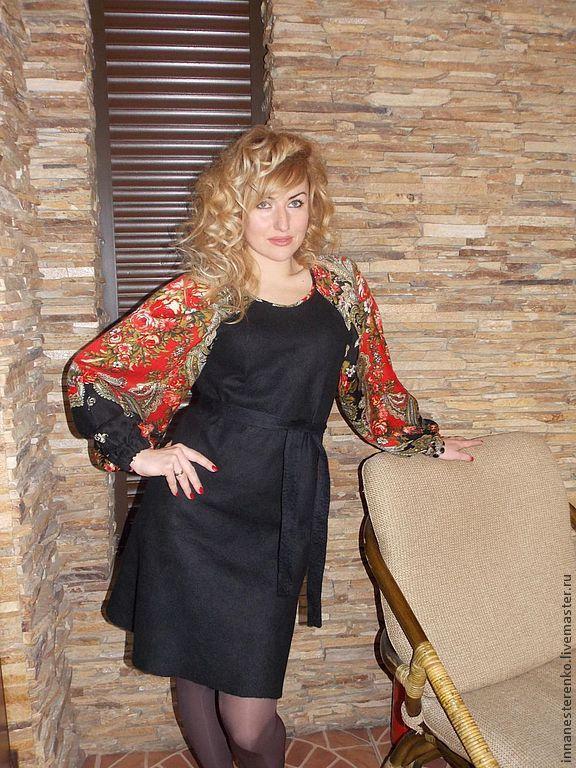 Dress felted Slavyanochka, Dresses, Dnepropetrovsk,  Фото №1