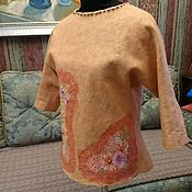 Одежда ручной работы. Ярмарка Мастеров - ручная работа Джемпер Персик. Handmade.