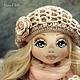 Коллекционные куклы ручной работы. Ярмарка Мастеров - ручная работа. Купить Valencia. Handmade. Бледно-розовый, кукла интерьерная, батист