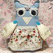 Куклы и игрушки ручной работы. Ярмарка Мастеров - ручная работа Сова -хранительница. Handmade.