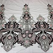 Материалы для творчества handmade. Livemaster - original item Fashion embroidery on mesh, Chantal. Handmade.