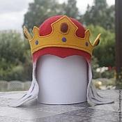 """Для дома и интерьера ручной работы. Ярмарка Мастеров - ручная работа Шапка для сауны """"Монарший удел. Король-правитель"""". Handmade."""