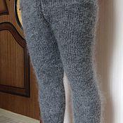 Брюки ручной работы. Ярмарка Мастеров - ручная работа Брюки,легинсы, гамаши,брюки-тёплые из козьего пуха. Handmade.