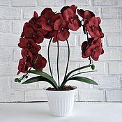 Цветы ручной работы. Ярмарка Мастеров - ручная работа Орхидеи. Handmade.