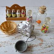 Материалы для творчества handmade. Livemaster - original item Items for decor of doll houses, roomboxes. Handmade.
