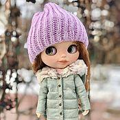 Одежда для кукол ручной работы. Ярмарка Мастеров - ручная работа Куртка с для Блайз. Handmade.
