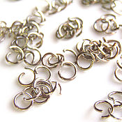 Материалы для творчества handmade. Livemaster - original item Accessories for jewelry: connecting rings. Handmade.