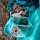 """Женские сумки ручной работы. Ярмарка Мастеров - ручная работа. Купить клатч """"Море волнуется"""". Handmade. Морская волна"""