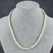 Работы для детей, handmade. Livemaster - original item Beads natural white pearls. Handmade.