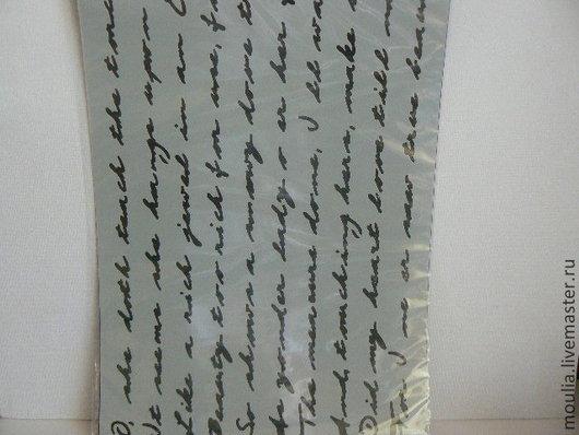 Трафарет Maraby-Art Stencil   А4 арт 007 письмо  4/0