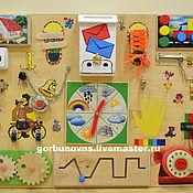 Куклы и игрушки handmade. Livemaster - original item Bizibord