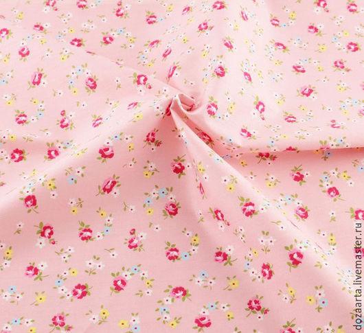 Отрез ткани для творчества в стиле шеби шик. Ткань для шитья кукол и игрушек, лоскутного шитья и пэчворка