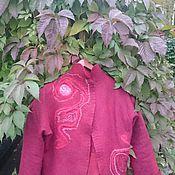 """Одежда ручной работы. Ярмарка Мастеров - ручная работа жакет """"Багрянец осени"""". Handmade."""