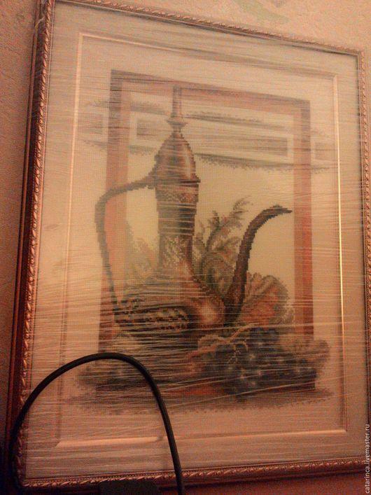Натюрморт ручной работы. Ярмарка Мастеров - ручная работа. Купить Греческая ваза. Handmade. Оранжевый, подарок, подарок женщине