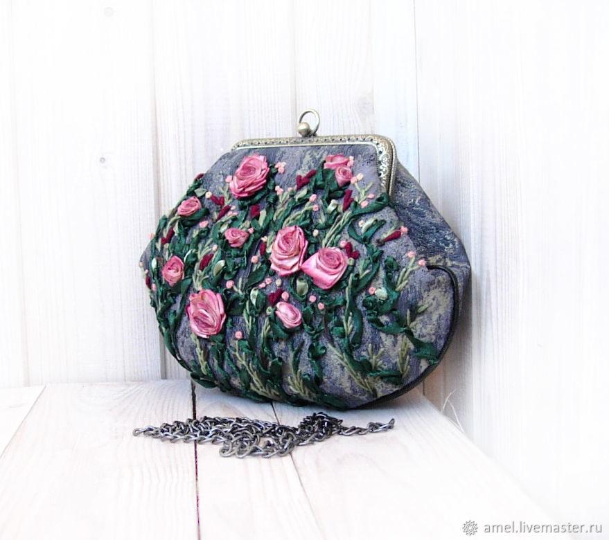 Bag with clasp: Handbag a GARDEN of EDEN, Clasp Bag, Izhevsk,  Фото №1