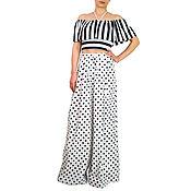 Одежда handmade. Livemaster - original item Pants women`s Fashion trousers Wide leg Palazzo pants. Handmade.