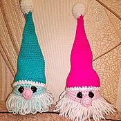 Куклы и игрушки ручной работы. Ярмарка Мастеров - ручная работа Гном Василий на счастье и удачу. Handmade.