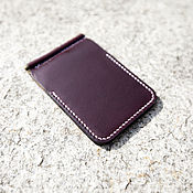 Сумки и аксессуары handmade. Livemaster - original item Wallet with money clip ( money clip wallet ) leather Horween. Handmade.