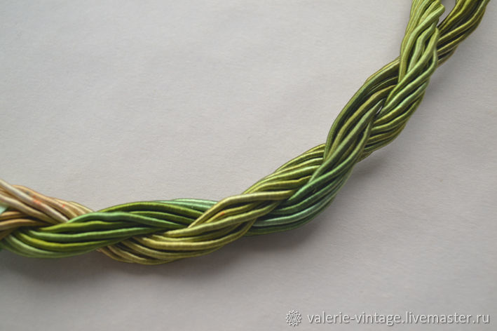 Thick viscose cord (no. №16), price per 1 meter, Thread, Moscow,  Фото №1