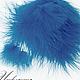 Другие виды рукоделия ручной работы. Ярмарка Мастеров - ручная работа. Купить Перо страуса натуральное, окрашенное №120.. Handmade.