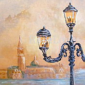 """Картины и панно handmade. Livemaster - original item Картина """"Венеция..""""(Акварель,пастель,графика). Handmade."""